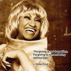 Brought to you by Ms. Celia Cruz!
