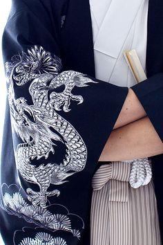 Men's kimono and haori Traditional Kimono, Traditional Outfits, Japanese Outfits, Japanese Fashion, Male Kimono, Men's Kimono, White Kimono, Kubo And The Two Strings, Overwatch Hanzo