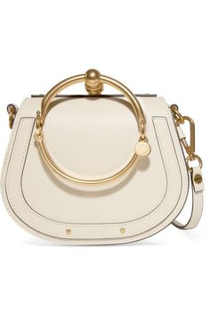 Pre-Owned ChloÉ Chloe Nile Crossbody Bracelet Small Off White Crossbody Shoulder Bag, Shoulder Handbags, Leather Crossbody Bag, Leather Purses, Leather Shoulder Bag, Chloe Nile Bag, Chloe Bag, Outfit Zusammenstellen, Daily Outfit