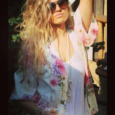 if I can't make it, i'll buy it. ;) white bird boho kimono #kissew