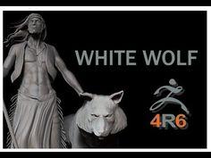 ▶ Zbrush 4R6 - White Wolf - Timelapse Modeling - YouTube