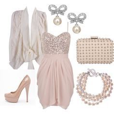 #glamour #chic #wedding #guest #outfit