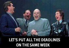 Meme for Geek. Grad School Problems