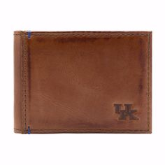 Kentucky Wildcats Campus Flip Bifold Front Pocket Wallet by Jack Mason