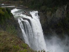 Snoqualmie Falls in Washington State | Snoqualmie Falls, Washington State | Amazing places around the world ...