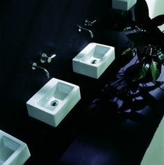 ACQUAGRANDE #washbasin designed for Flaminia | #Palomba #bathroom #design