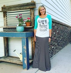"9 Likes, 3 Comments - Summer Wouters (@lularoesummerwouters) on Instagram: ""Life is better when you are laughing • heck yeah! 👗 #lularoe #lularoemaxi #ootd #lovemyjob…"""