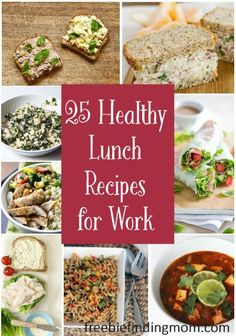 25 Healthy Lunch Rec
