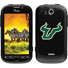 USF - Bull Logo South Florida design on OtterBox® Commuter Series® Case for HTC MyTouch 4G in Black