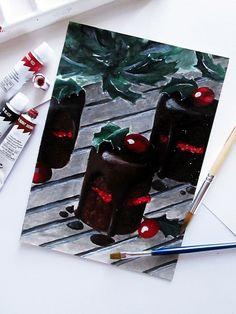 Acrylic painting by Klaudia Cymorek