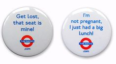 The 'Baby On Board' badges that are more likely to get you a smack than a seat