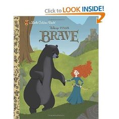 Brave Little Golden Book (Disney/Pixar Brave) I love Golden Books, as I grew up on them. Golden Books help children to read, by encouraging them through the stories and cute illustrations. ---> http://howtoget.us/brave-little-book