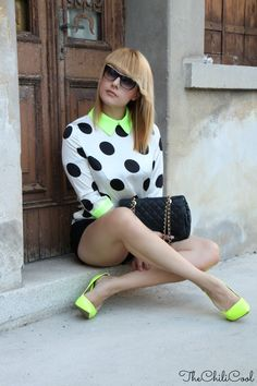 alessia milanese, thechilicool, fashion blog, fashion blogger,polka dots e…