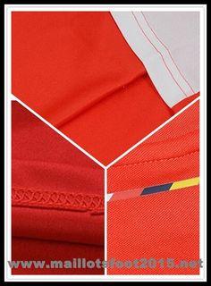 f7621f9e5 equipement de maillot de foot Arsenal 2014-2015 puma Rouge et blanc