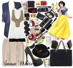 """Disney challenge:: Snow White"" by irishfleur06 ❤ liked on Polyvore"