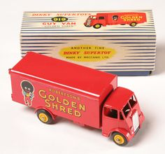 Dinky Vintage Golden Shred Golliwog Van in Box