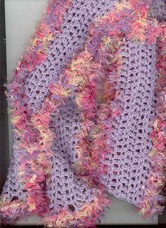How to Crochet Eyelash Yarn - YouTube   Eyelash yarn, Eyelash yarn ...   324x236