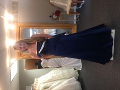 One of my beautiful bridesmaids in the dress