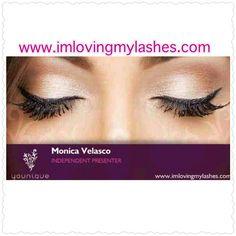 My business cards. #imlovingmylashes #YouniqueByMonica www.imlovingmylashes.com