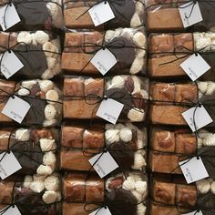 Bakery Cafe, Holiday Gifts, Catering, Marble, Wraps, Packaging, Gift Wrapping, Sweets, Foods