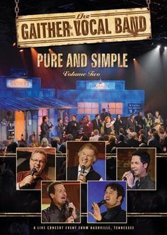 Gaither Vocal Band Bill Gaither, David Phelps, Michael English, Wes Hampton and Mark Lowry. Love listening to these guys.