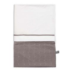 Cable Uni - Duvet cover 135x100 - taupe by Baby's Only - www.babysonly.nl