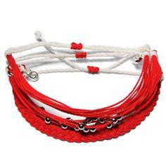 Aids Awareness Set - Weltfreund Armbänder Aids Awareness, Charity, Crochet Necklace, Jewelry, Fashion, Make A Donation, Armband, Jewlery, Moda