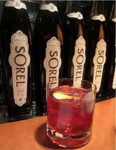 This recipe was created specifically for The Manhattan Cocktail Classic by Mike P. Dulle, GM of The JakeWalk, and demonstrates Sorel's versatility as a modifier.