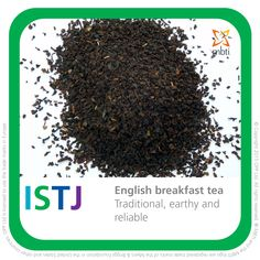 Start the day with the reliable flavour of a cup of ISTJ