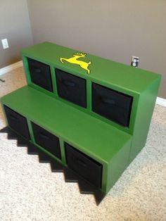 """'""""front end loader"""" for John Deere Tractor bunk beds"""