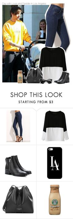 """""""Day with Louis and Freddie in Los Angeles"""" by xcuteniallx ❤ liked on Polyvore featuring Chicnova Fashion, 3.1 Phillip Lim, Casetify and PUR"""