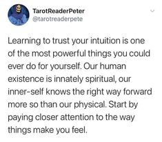 You Can Do, Make You Feel, How To Get, Trust Yourself, Make It Yourself, Learning To Trust, Human Soul, Finding Peace, Intuition
