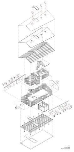 How To Draw Architecture Diagram 2008 Yamaha R6 Ignition Wiring 816 Best Architectural Diagrams Presentation Images In 2019 Gallery Of Mountain House Mist Shulin Design 43