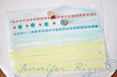 how to make your own DIY washi tape