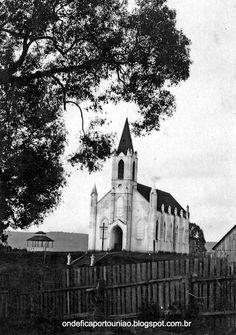 Igreja Matriz Nossa Senhora das Vitórias  de Porto União - Santa Catarina - Brasil.
