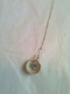 Seashell Pendant Wire Wrapped by StarsightJewels on Etsy, $10.00