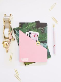 DIY School Supplies You Need For Back To School - DIY Back To School Notebooks - Cuter, Cool and Easy Projects for Teens, Tweens and Kids to Make for Middle School and High School. Fun Ideas for Backpacks, Pencils, Notebooks, Organizers, Binders http://diyprojectsforteens.com/diy-school-supplies