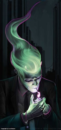 Levy makarov, spring elemental levenquick/lightning, magistrate of the wax mask