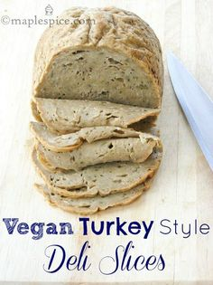 Vegan Turkey Style Deli Slices: • 100g (1/2 cup) canned white canellini beans, drained and rinsed. #vegan #glutenfree #healthy #minimaleats | Minimalist GiGi Eats // GiGi