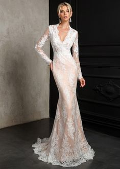 Lace Wedding Dress Fall Wedding Guest Dresses 2019 Mermaid Wedding Gown Unusual Mother Of The Bride Dresses Casual Country Wedding Dresses Corset Back Wedding Dress, Wedding Dress Sizes, Country Wedding Dresses, Dream Wedding Dresses, Bridal Dresses, Wedding Gowns, Lace Dress, Tulle Lace, Lace Wedding