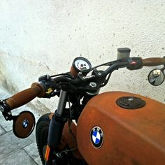 BMW r 65 Brown sugar