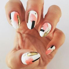 """1,313 Likes, 2 Comments - Ugly Duckling Nails Inc. (@uglyducklingnails) on Instagram: """"Beautiful Nails by @ninanailedit ✨Ugly Duckling Nails page is dedicated to promoting quality,…"""""""