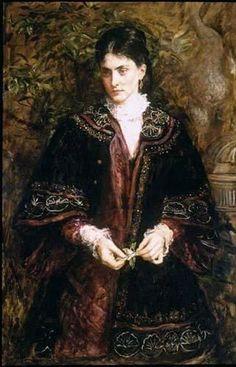 Sir John Everett Millais British, 1829 - 1896 Oh! that a dream so sweet, so long enjoy'd
