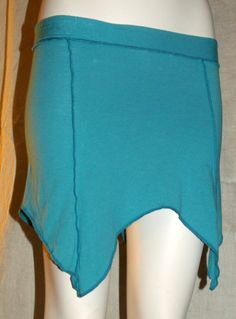 Organic Simple Sprite Skirt in Turquoise size small by KreativeMindz, $32.00