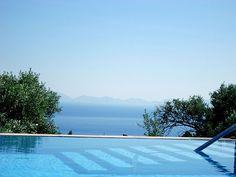 Villa Olivio Datca pool 2012