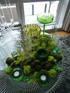 Moss Table Scapes | Table / Landscape = Tablescape!