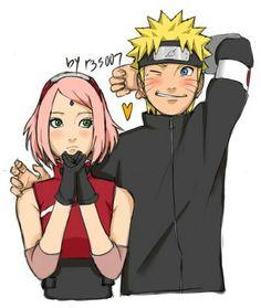 NaruSaku is soooooo cute! Naruko Uzumaki, Hinata, Boruto, Sasuhina, Narusaku, Naruto Shippuden Sasuke, Sakura Haruno, Naruto E Sakura, Naruto Family
