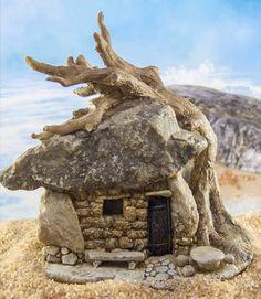 Tiny Stone Troll House
