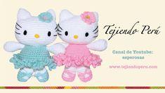 Hello Kitty tejida a crochet (amigurumi) Parte 1: cabeza https://www.youtube.com/watch?v=Y0wH4EmHO30