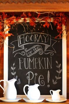So doing this for the seasons! Grab a canvas, paint with chalkboard paint, place in an open-backed frame and tada! you have a super cute place to write seasonal sayings.